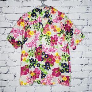 Psychedelic 60s Vintage Hawaiian Shirt